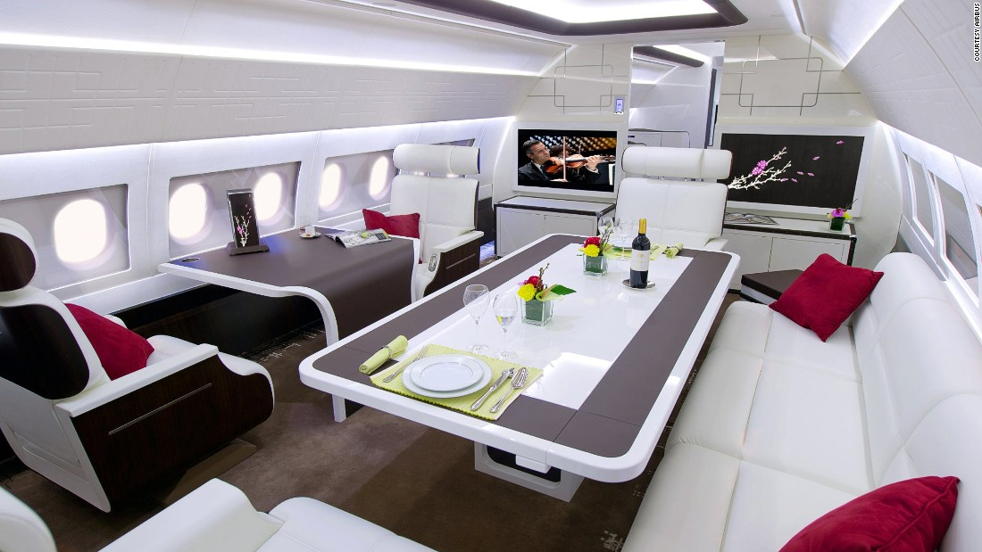 The last couple of decades have seen a dramatic increase in the number of billionaires and multimillionaires worldwide, driving the demand for ever more luxurious ways to jet around the globe.
