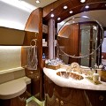 Flying palaces Comlux Airbus ACJ319 Bathroom