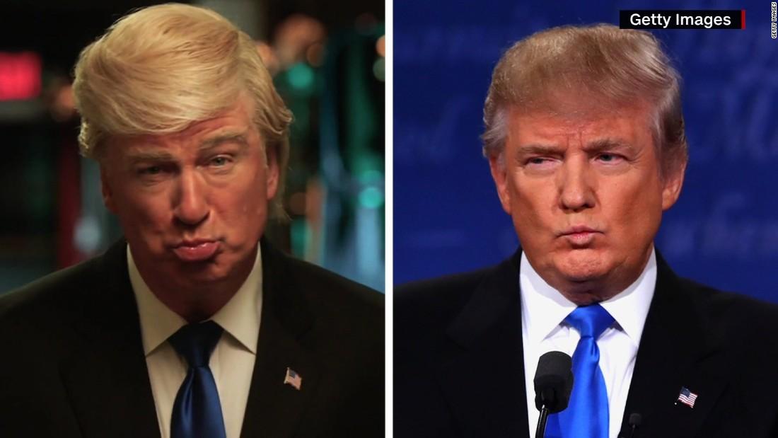'SNL 'elects Alec Baldwin as new Trump - CNN Video