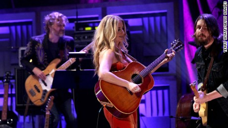 NASHVILLE, TN - SEPTEMBER 21:  Margo Price performs onstage at the Americana Honors & Awards 2016 at Ryman Auditorium on September 21, 2016 in Nashville, Tennessee. at Ryman Auditorium on September 21, 2016 in Nashville, Tennessee.  (Photo by Terry Wyatt/Getty Images for Americana Music)