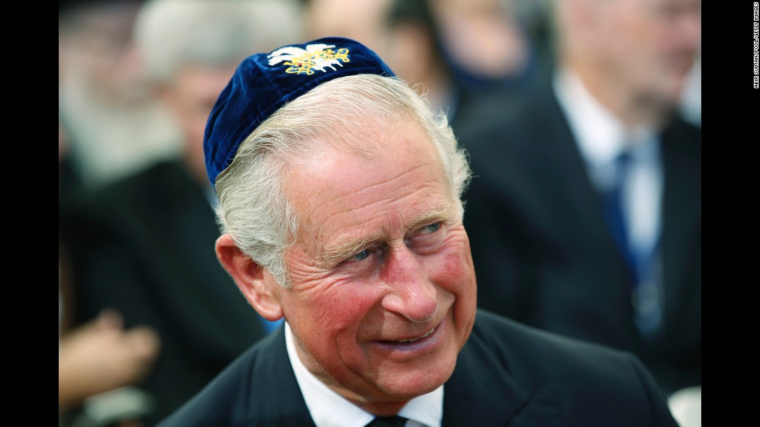 Prince Charles represents the British monarchy at the ceremony.