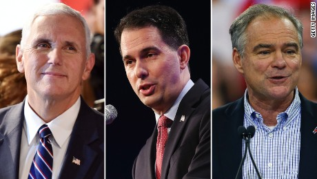Pence debate prep: More traditional than Trump's, practicing with Scott Walker