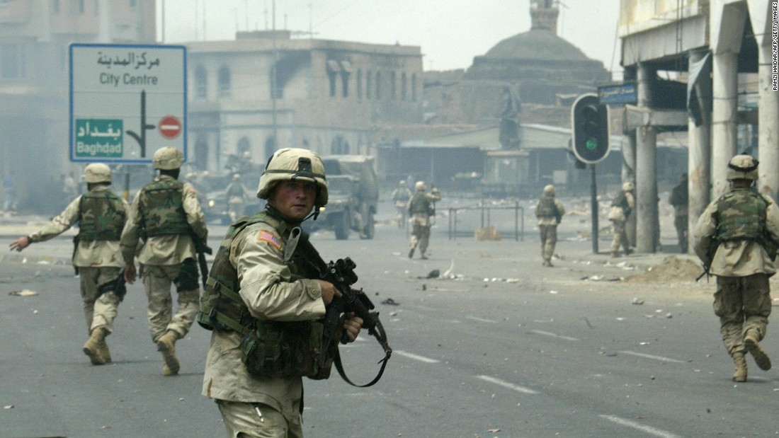 Fierce clashes erupted in Mosul in the summer of 2003, and US soldiers found themselves in the midst of urban warfare.