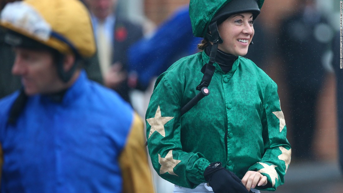 "Now retired flat jockey, Hayley Turner, agrees with Marquand in this regard. ""(Jockeys) need to be strong to be able to control the horse ... you need the strength to hold them together,"" she says.<br />"