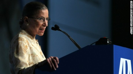 Ruth Bader Ginsburg: post-election, 'perhaps Congress will do some work'