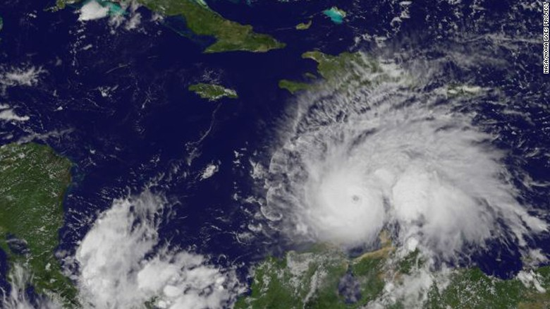 Strengthened Hurricane Matthew threatens Jamaica, Cuba