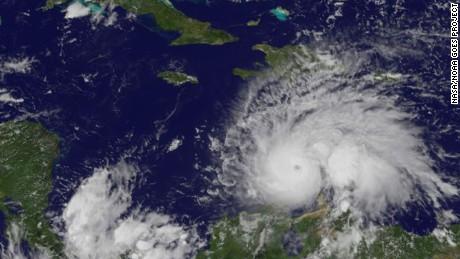 Hurricane Matthew threatens Jamaica, Cuba