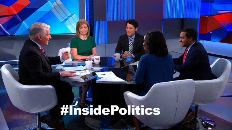 'Inside Politics' forecast: Ohio in play for Clinton?