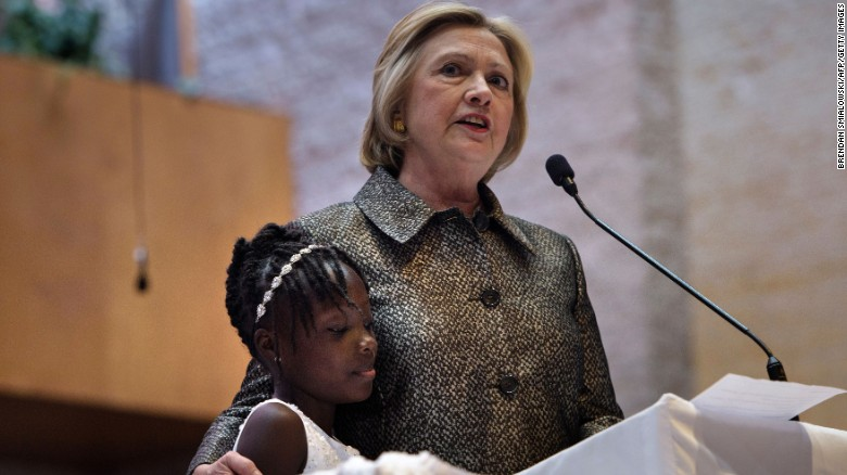 Clinton: My worries different than black grandmothers