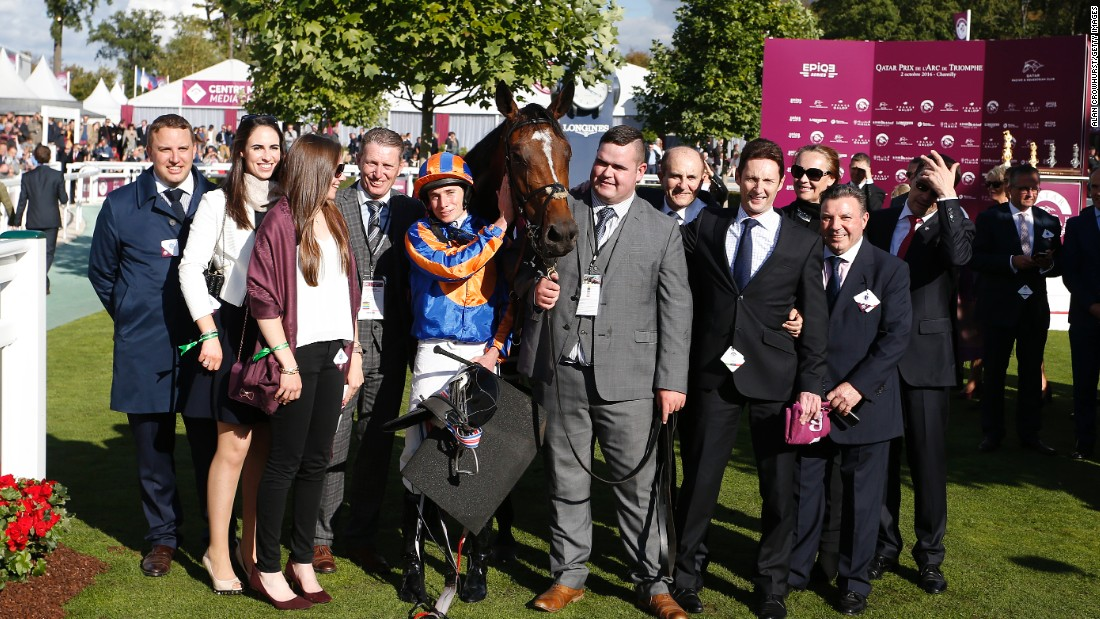 The race proved a triumph for Irish trainer Aidan O'Brien and his connections as he saddled the first three runners home in Europe's most prestigious flat race.