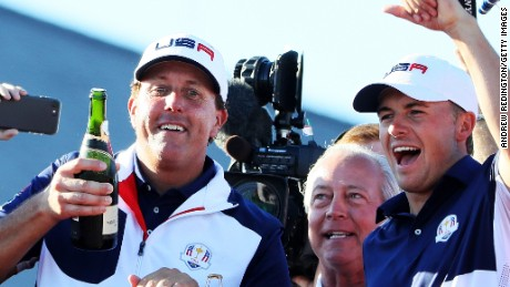 Ryder Cup: Mickelson plots 'multitude' of wins; Tiger wants captaincy