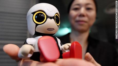 cnnmoney toyota robot