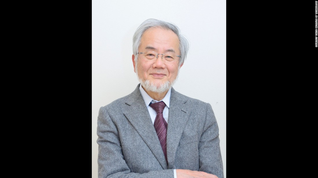"Biologist Yoshinori Ohusumi was awarded the Nobel Prize for his discoveries in autophagy, the process where a cell recycles part of its own contents.<br /><br />Click through the gallery to learn about other notable <a href=""https://www.nobelprize.org/nobel_prizes/medicine/laureates/"" target=""_blank"">Nobel Prize winners</a> in medicine and physiology."