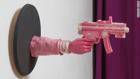 Enter the pink, sticky world of chewing gum artist Maurizio Savini