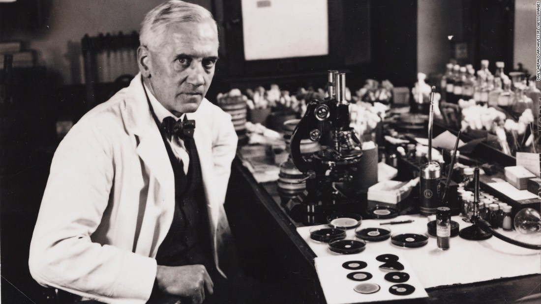 While studying staphylococci bacteria, Alexander Fleming and his colleagues said they noticed one petri dish had been contaminated with a fungus that had killed all of the bacteria inside. They identified the anti-bacterial fungus as a member of the Penicillium genus, and it was found to successfully kill a host of other bacteria -- making it the world's first successful antibiotic.