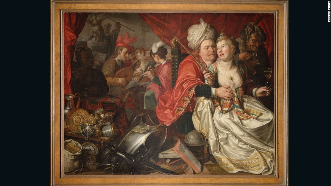 "One of the highlights of the Westfries Museum, ""Lady World"" by Jacob Waben was one of 24 paintings stolen in 2005."