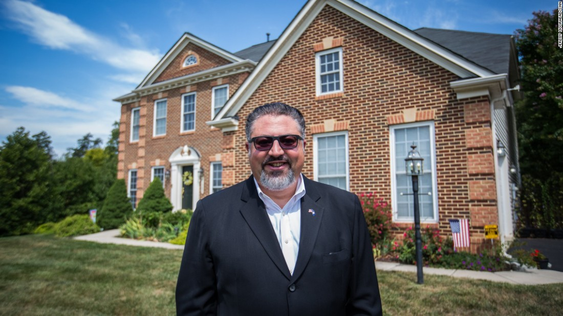 """David Ramadan, former member of the Virginia House of delegates, lives in Dulles, Virginia. An Arab-American born and raised in Beirut, Lebanon, in the middle of the civil war. Came to the US at the age of 19.<br /><br />""""As a conservative, I was absolutely distraught and offended that my party, the party of Reagan, the party of Lincoln, the true big tent, that aspired for a great America, has today nominated a candidate who is a bigot, racist, demagogue. That is something that I cannot take nor ever accept.""""<br />"""