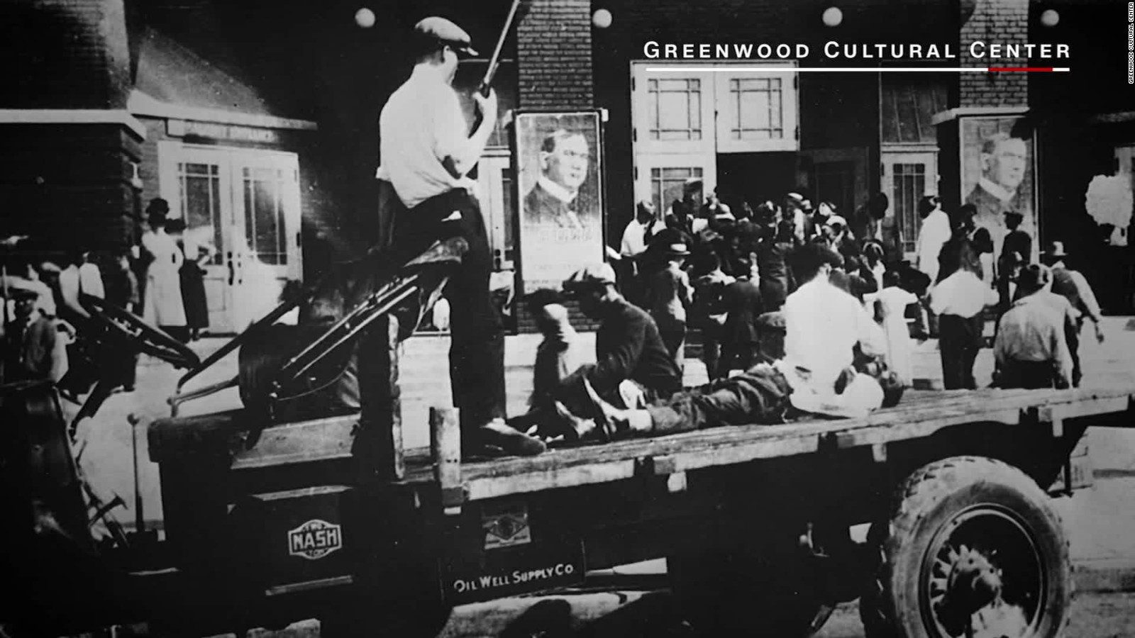 Tulsau0027s U0027Black Wall Streetu0027 Massacre   CNN Video