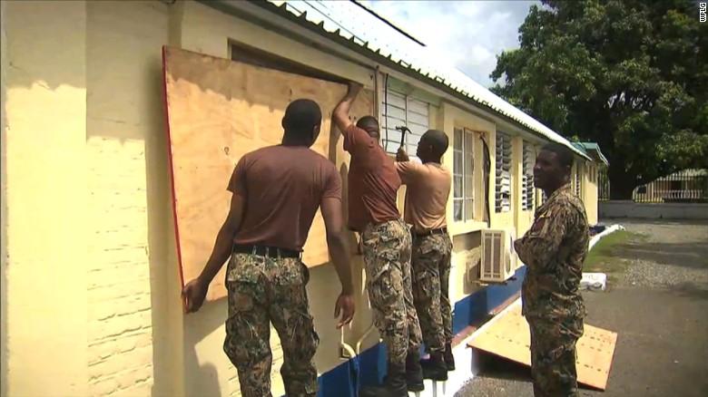 The Caribbean braces for Hurricane Matthew