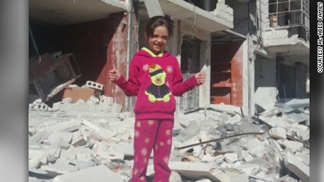 Aleppo girl, 7, tweets: 'Pray for us. Goodbye'