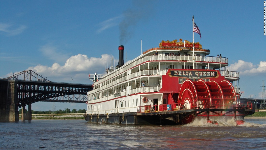 <strong>Delta Queen, Houma, Louisiana</strong>—The 1926 steamboat needs an act of Congress that would grant it an exemption allowing it to sail again. The 1966 Safety at Sea Act doesn't allow certain wooden ships to take passengers on overnight trips.
