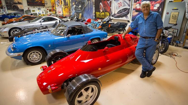 Jay Leno Hollywood Star S Mclaren Car Cnn
