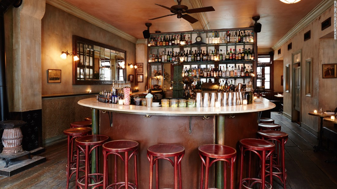The world's 50 best bars for 2016 have been announced in London. At number 20 is Maison Premiere in New York City. Click through the gallery to see the winners.