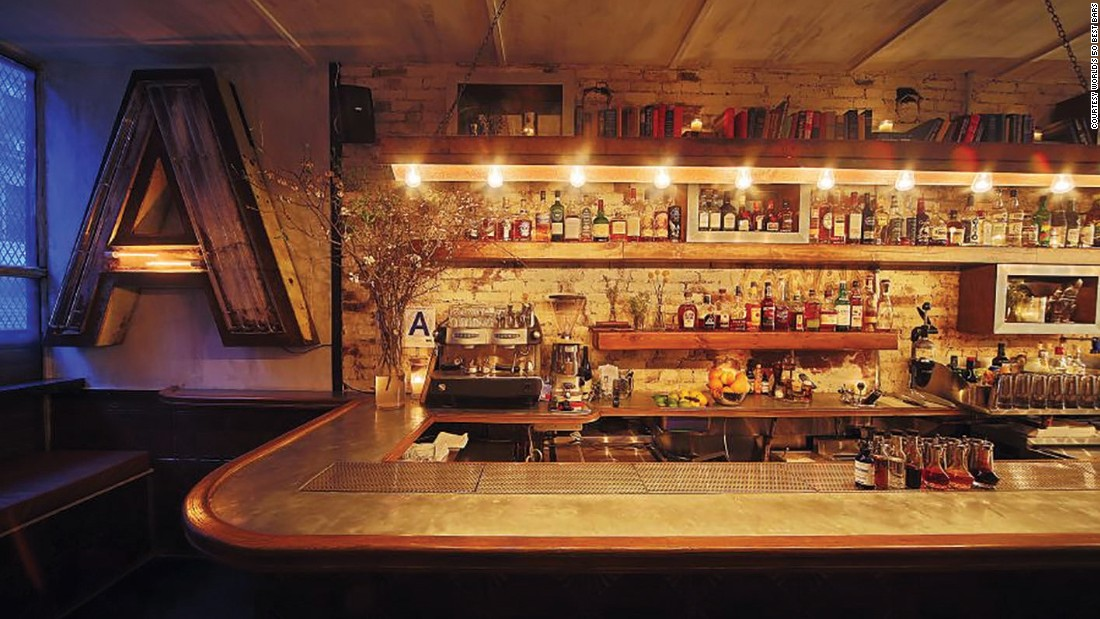 "Attaboy, at number 5, is described by the 50 Best Bars website as a New York City ""institution."""