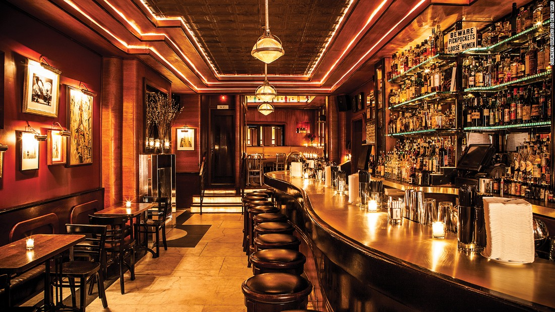 World S Best Bar In 2016 Dead Rabbit In Manhattan Cnn Com