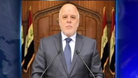 Iraqi PM vows liberation from ISIS in Mosul