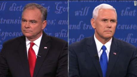 Pence edges Kaine in VP debate instant poll