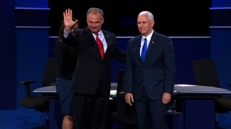 Entire vice presidential debate: Pence vs. Kaine