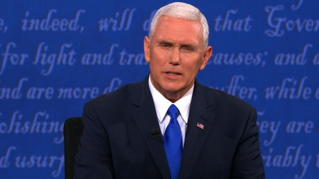 Pence to Kaine: You would know about campaign insults