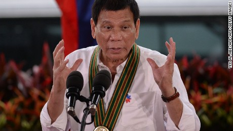 Duterte says he'll break up with U.S.