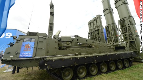 The system is a newer version of the S-300VM (pictured).