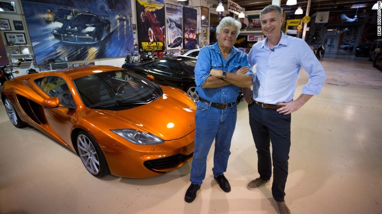 Hollywood confidential: Jay Leno's car collection