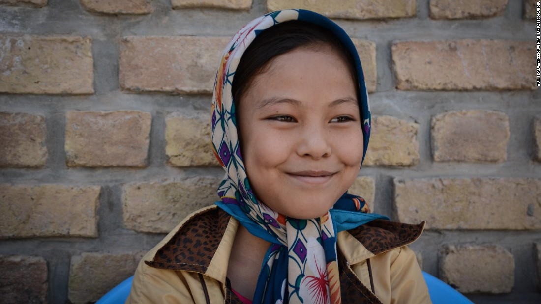 """Some fathers say boys have to go to school, girls have to stay at home,"" said 12-year-old Razia, who is studying at Gabreal Girls High School.<br />""It's not correct. Girls also have the right to an education. They should study."""