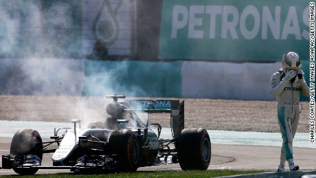 Hamilton's engine failure in Sepang prevented him from regaining the championship lead.