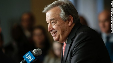 Antonio Guterres Fast Facts