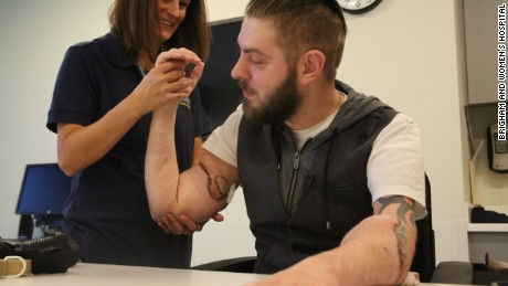 Double arm transplant will allow veteran 'to pursue my dreams'