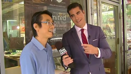 "Fox News' Jesse Watters interviews Chinese Americans in a controversial ""O'Reilly Factor"" segment."