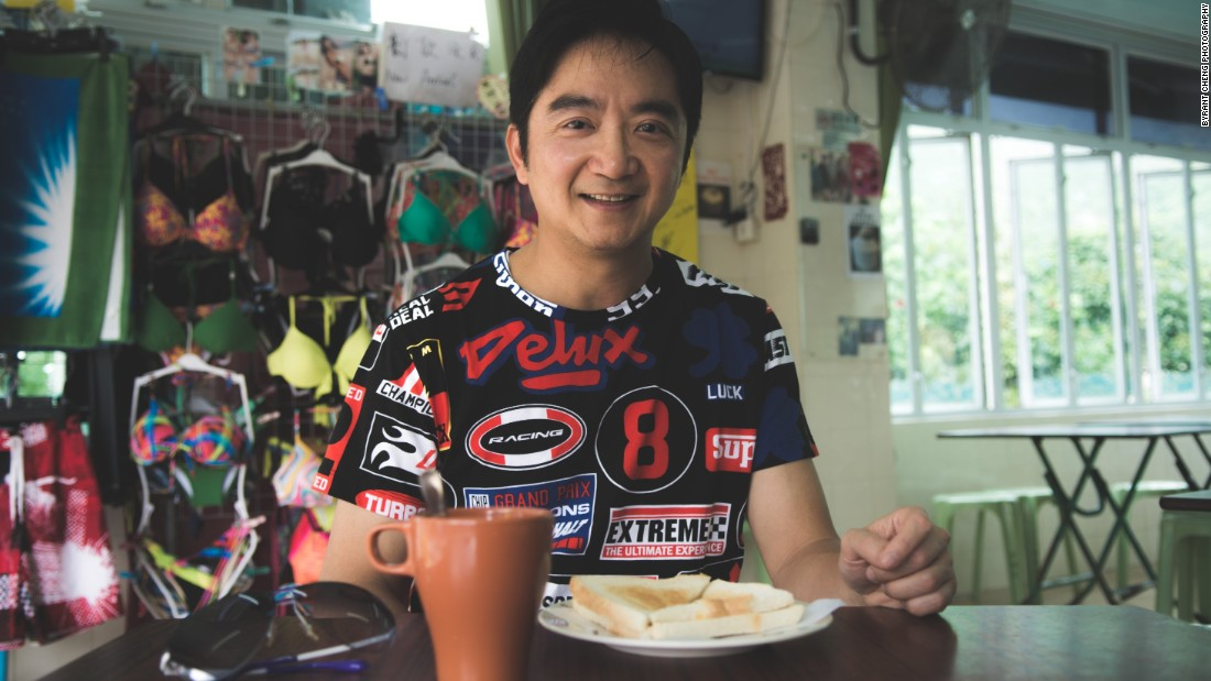 For supercar owner Desmund, a drive to coastal Shek O usually ends with breakfast at a street side village cafe: a bite of buttered toast with milk tea, Cantonese-style.