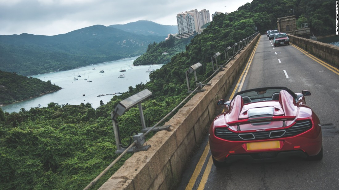 Beyond Hong Kong's more recognizable urban landscapes, there are plenty of roads away from the hustle that offer drives through beautiful scenery.