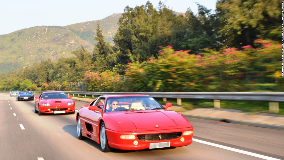Hong Kong's supercar owners have formed a loose community, bonding over the experience of coursing down highways in their exotic automobiles.