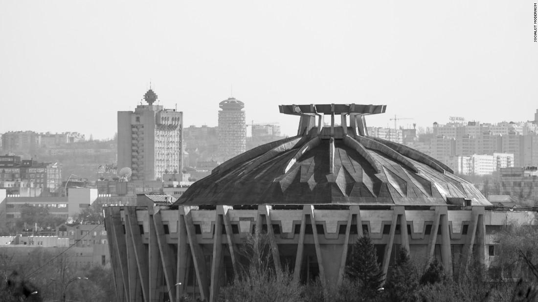 Chisinau Circus, built in 1981.