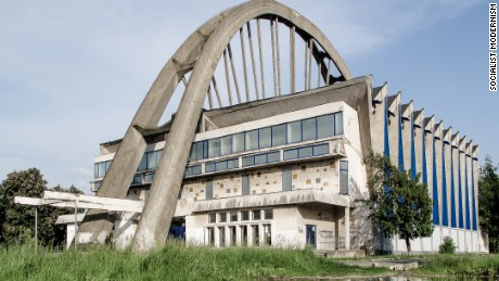 Bacau sports hall, Bacau, Romania.