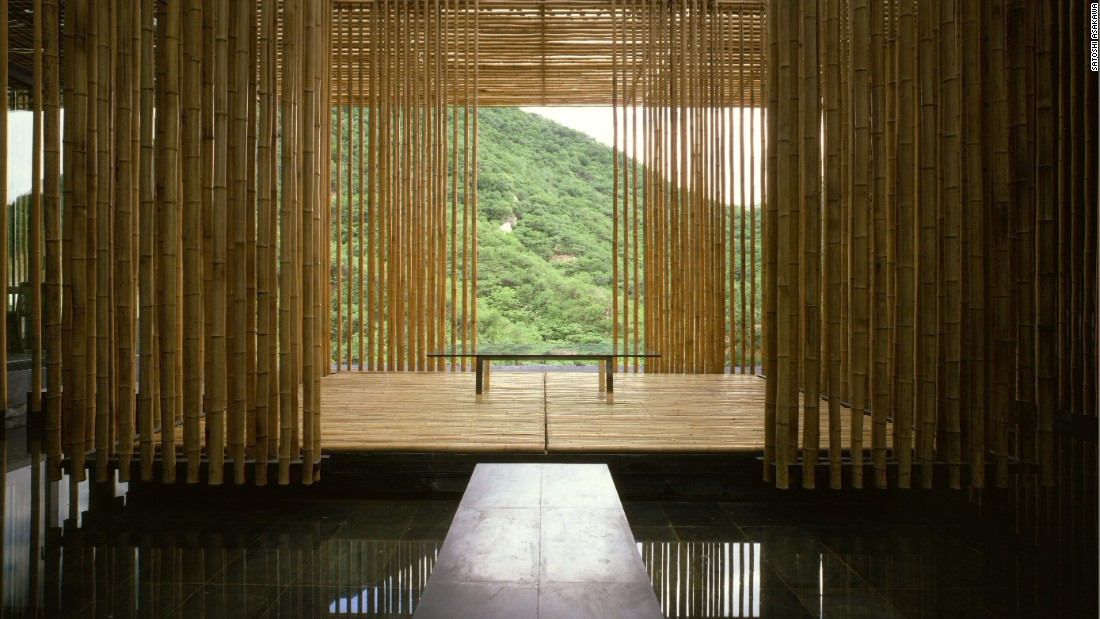Kuma's dedication to architecture that incorporates nature saw him be one of the 10 architects invited to design a residence at this retreat at the Great Wall of China.