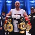 Tyson Fury Waldimir Klitschko belts