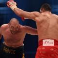 Tyson Fury Wladimir Klitschko action