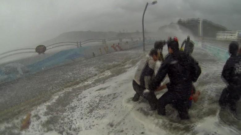 s korea typhoon yeosu coast guard vo_00004901